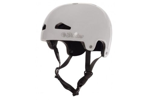 Shadow Feather Weight In -Mold Helmet - White Large/XL